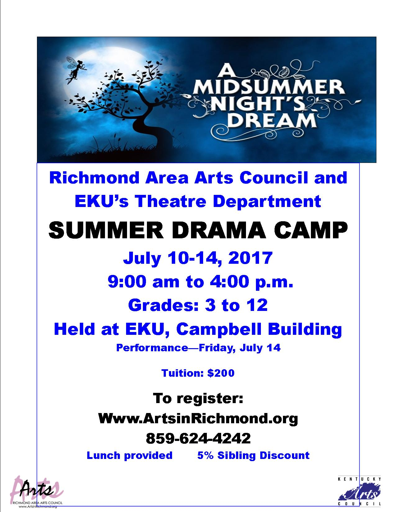 Summer Drama Camp