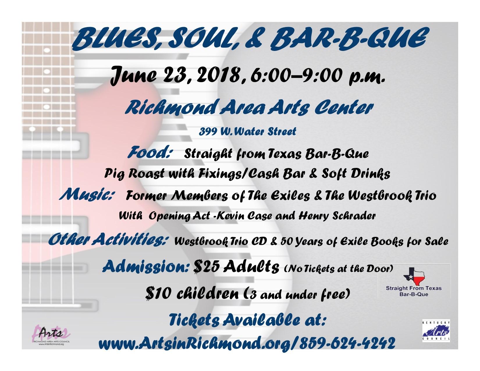 Blues, Soul, and Bar-B-Que | Richmond Area Arts Council