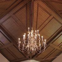 Richmond Area Arts Council Chandelier