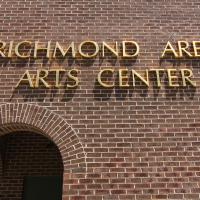 Richmond Area Arts Council Sign